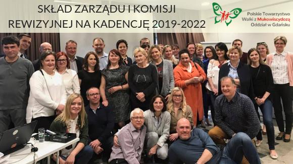 Skład Zarządu i Komisji Rewizyjnej na kadencję 2019-2022