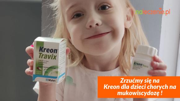 Zrzućmy się na Kreon dla dzieci chorych na mukowiscydozę!