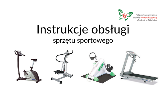 Instrukcje obsługi sprzętu sportowego